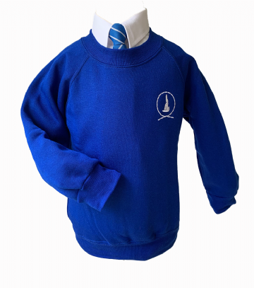 Great Wakering  Crew Neck Sweatshirt - Royal